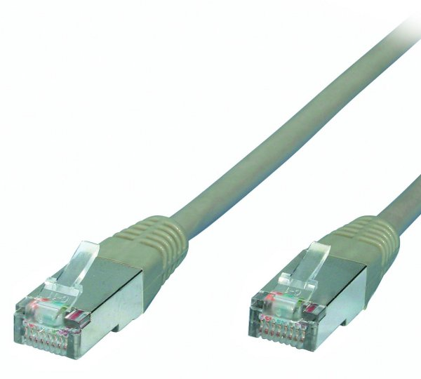 Cablu internet patch utp cat 5e gri 5m