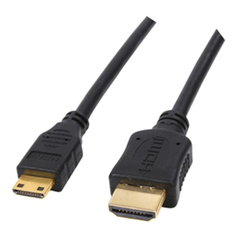 Cablu hdmi - mini hdmi 3d high speed with ethernet - 5m