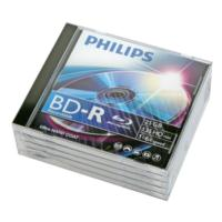 BD-R Philips Blu-ray 25GB 6x case*5