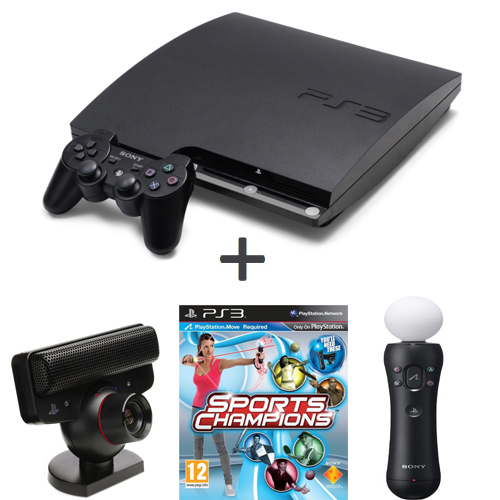 Consola Playstation 3 Slim + Kinect